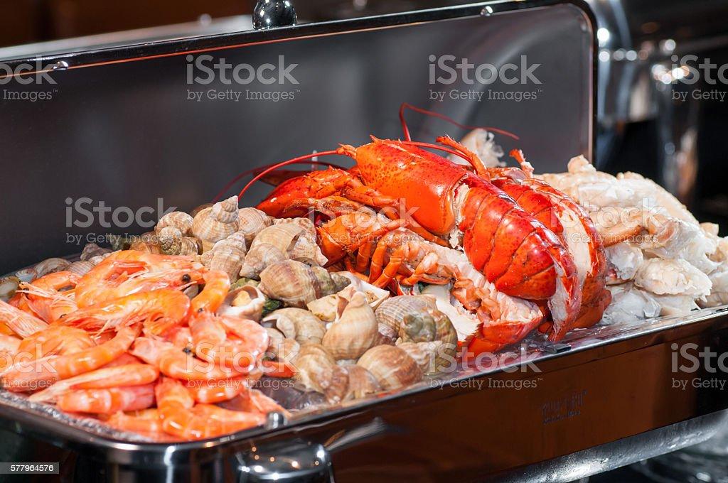 Pescados y mariscos  - foto de stock