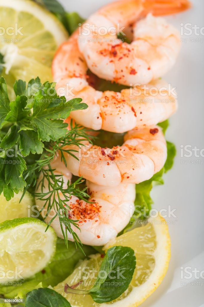 Seafood. stock photo