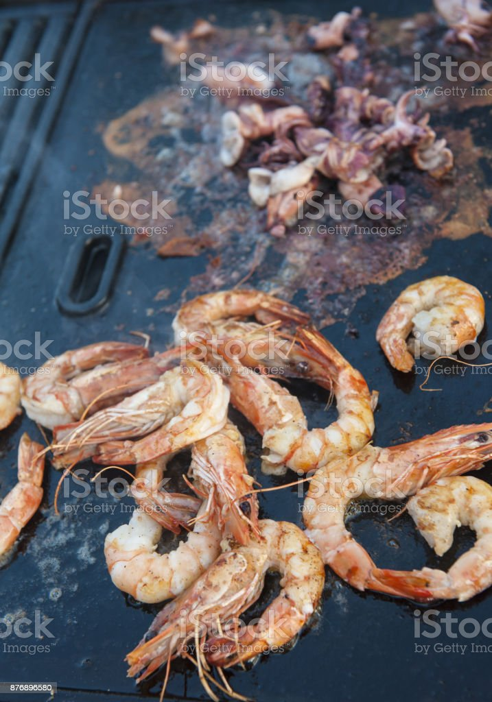 Seafood stock photo