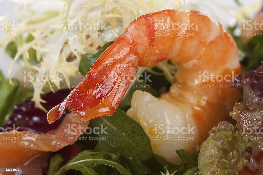 Seafood Salad royalty-free stock photo