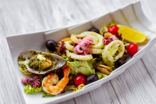 Seafood salad restaurant serving appetizing food picture id1140744792?b=1&k=6&m=1140744792&s=612x612&w=0&h=cjh0sqyw4a  c6od8nj qfgqyxik1t  gjvzz12ru40=