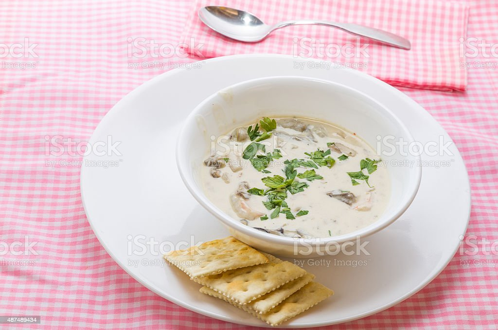Seafood Stew stock photo