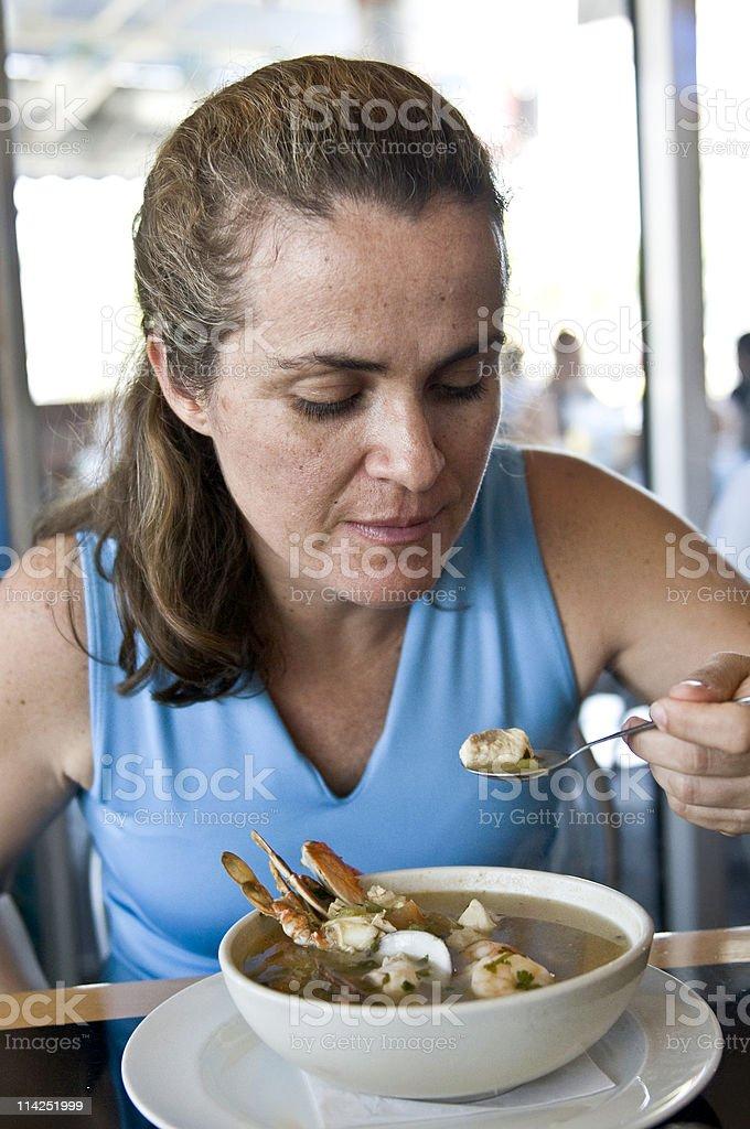 Meeresfrüchte-Eintopf/Suppen – Foto