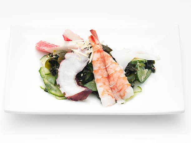 Meeresfrüchte sunomono-Salat – Foto