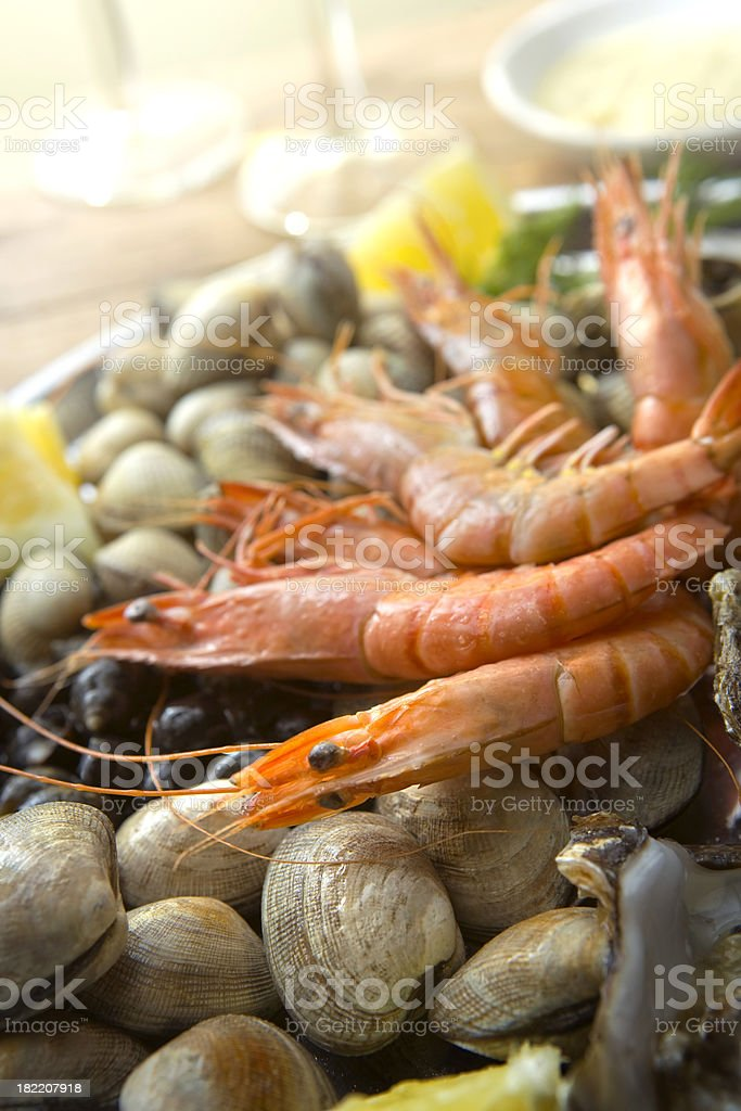 SeafoodStills: Fruits de Mer stock photo