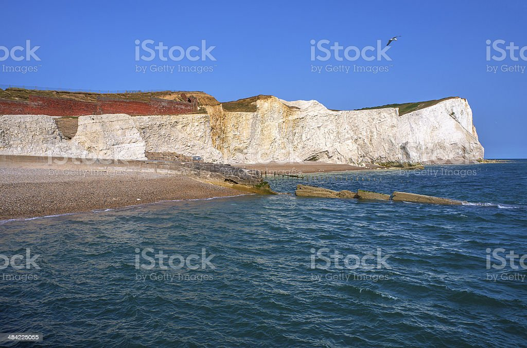 seaford head royalty-free stock photo
