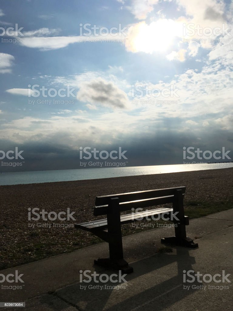 Seaford Seafront stock photo