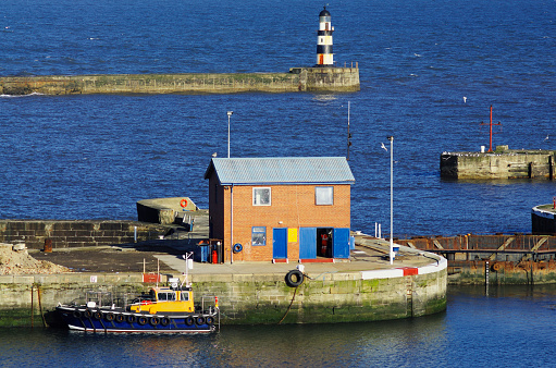 Seaham Docks Stock Photo - Download Image Now