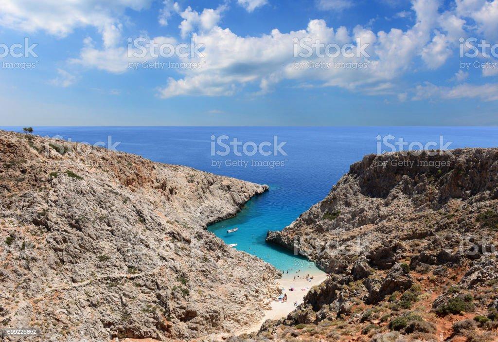 Seaitan beach stock photo