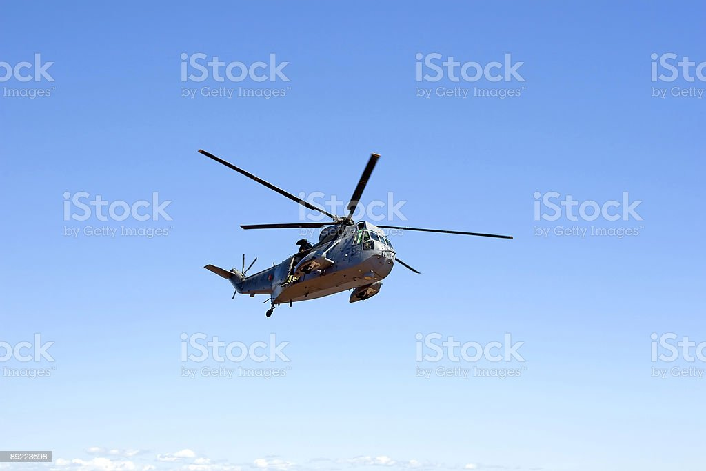SeaKing Helicopter royalty-free stock photo