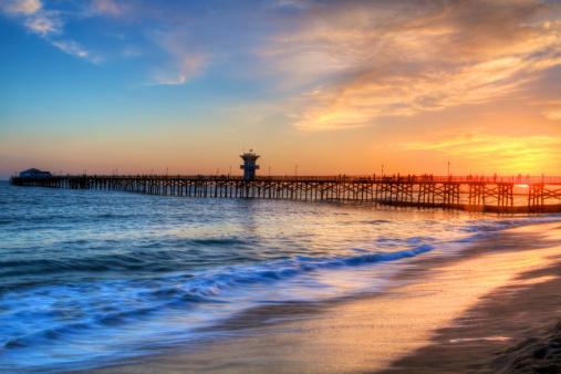 Seal Beach Pier Southern California