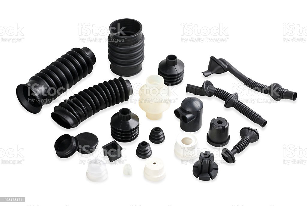 Seal tubes parts for repair stock photo