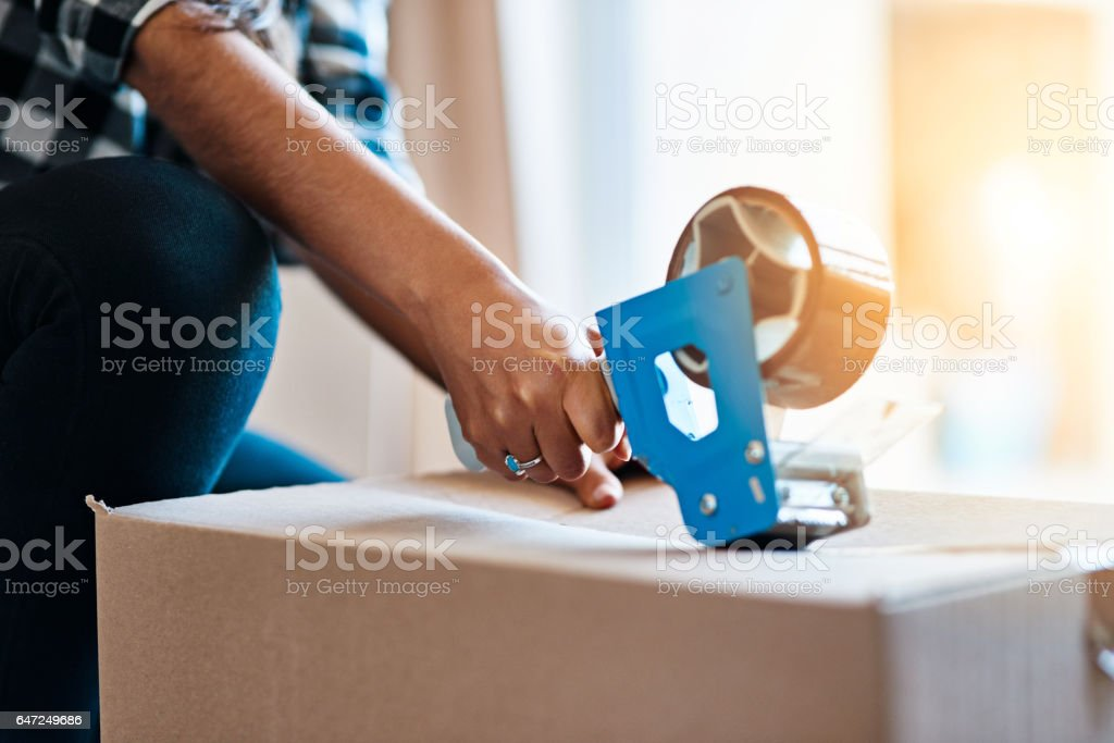 Sealed and secure stock photo