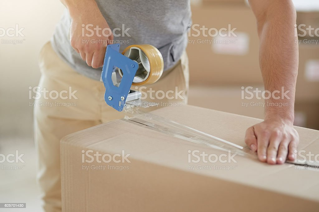 Sealed and secured stock photo