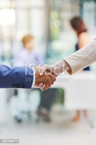 istock Sealing the deal 537439772