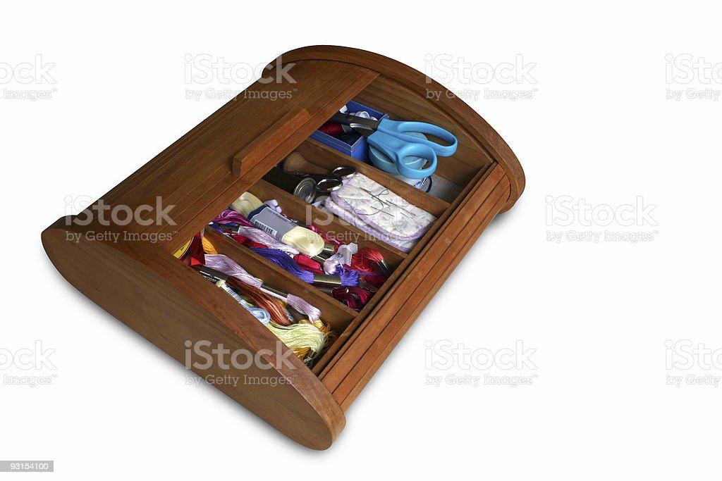 Seam toolbox stock photo