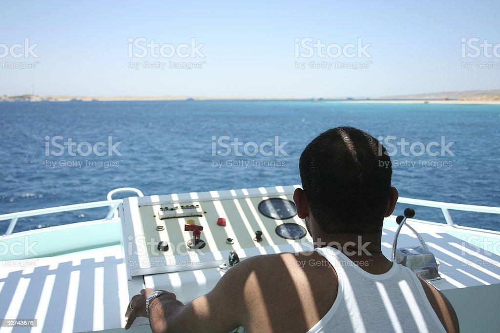 Seaman Lizenzfreies stock-foto