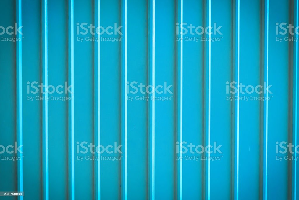 Seamless abstract background blue aluminium metal plate texture stock photo