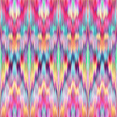 seamless abstract ethnic texture, multicolor ikat pattern, pink retro intricate background, retro traditional asian fabric, fashion textile design, neon wallpaper, kaleidoscope ornament