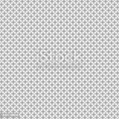 istock Seamless abstract grunge black texture fractal patterns 830738636