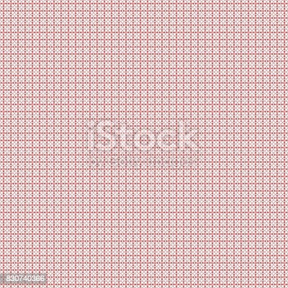 istock Seamless abstract grunge red texture fractal patterns 830740366