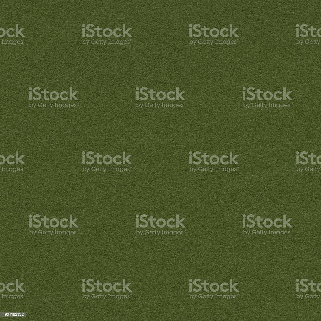 Seamless army green felt background stock photo