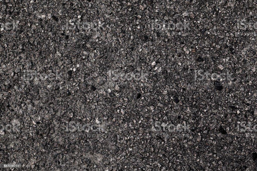Seamless asphalt road black texture