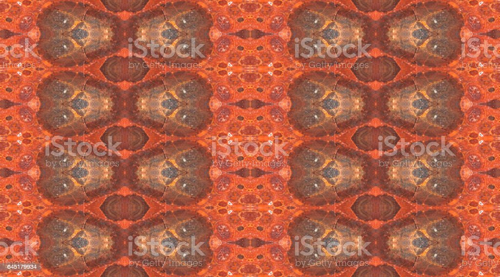 Seamless background from natural bauxite mineral - Photo
