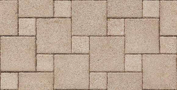 Seamless Background Paver Stone.