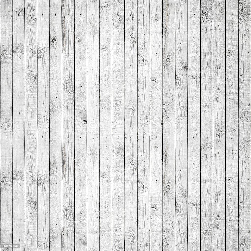 Seamless background texture of old white painted wooden lining b stock photo