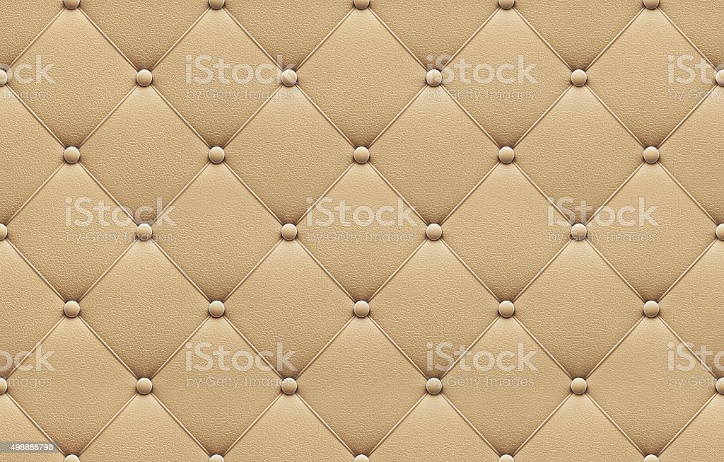 Seamless beige leather upholstery pattern stock photo