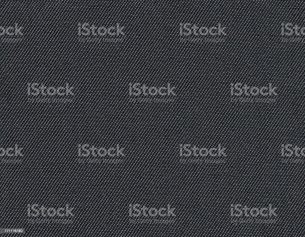 Seamless black fabric background stock photo