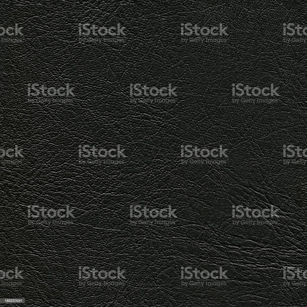 Seamless black leather background royalty-free stock photo