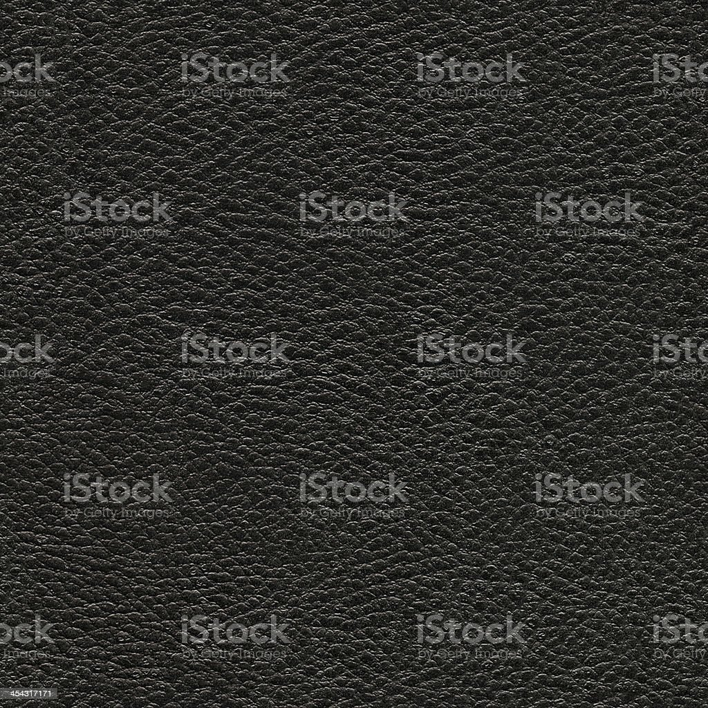 Seamless black leather background royalty-free stock photo