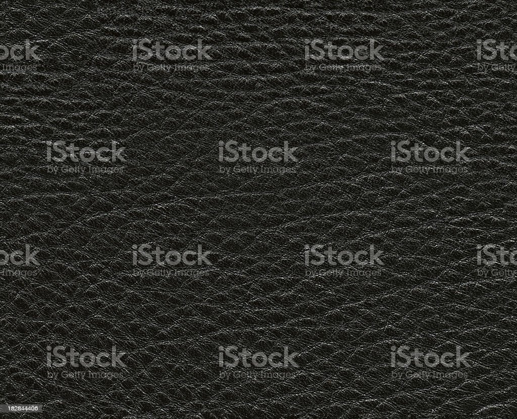 Seamless black natural leather background royalty-free stock photo