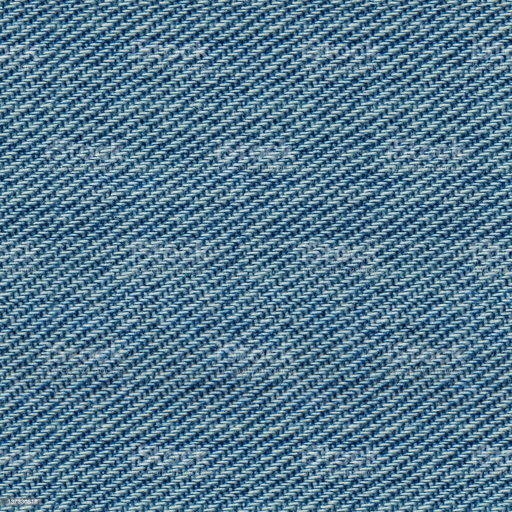 Seamless Blue Denim Texture stock photo