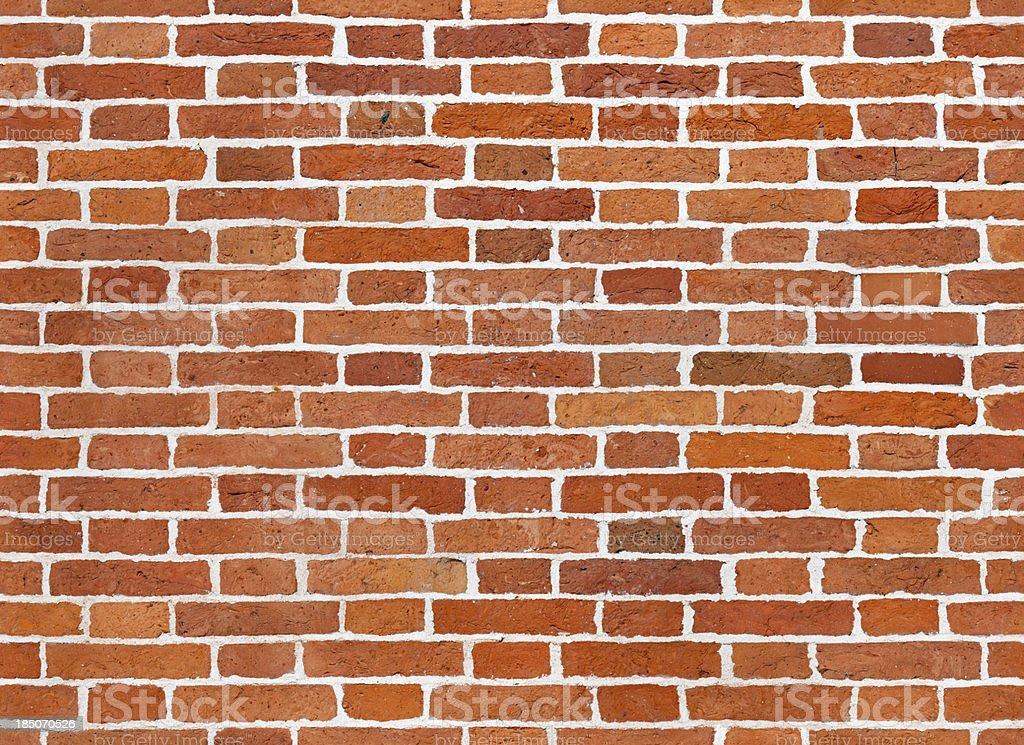 Seamless brick wall background stock photo