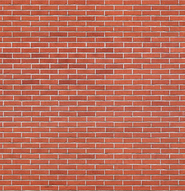 Seamless brick wall texture stock photo