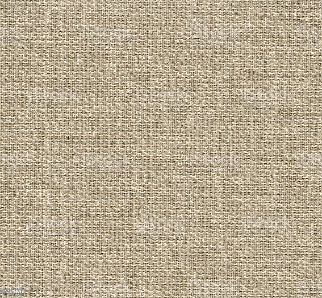 Seamless brown linen canvas background royalty-free stock photo