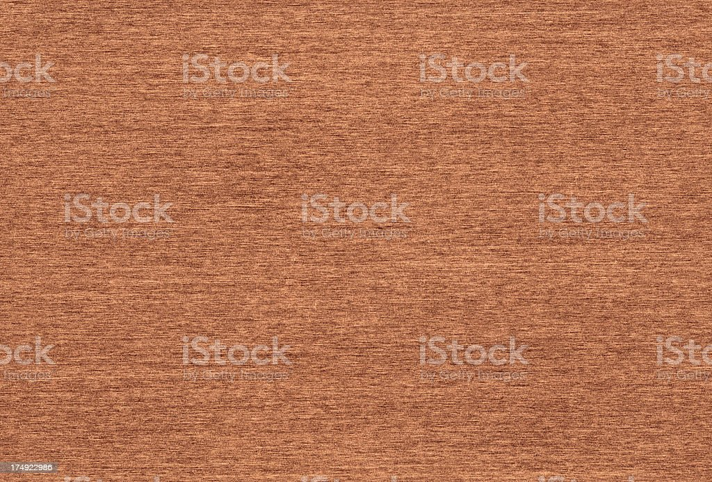 Seamless brushed copper background royalty-free stock photo