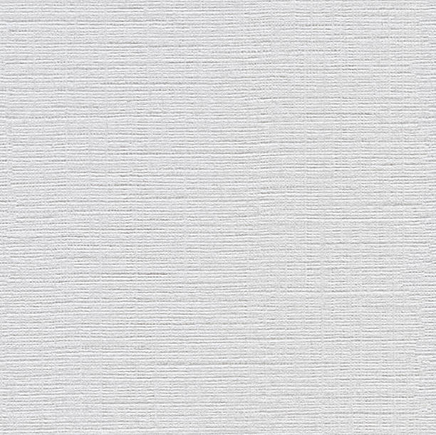 Seamless Burlap Textured Paper Background Stock Photo