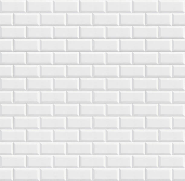 seamless ceramic tiles, white wall texture seamless ceramic tiles, white wall background texture subway stock pictures, royalty-free photos & images