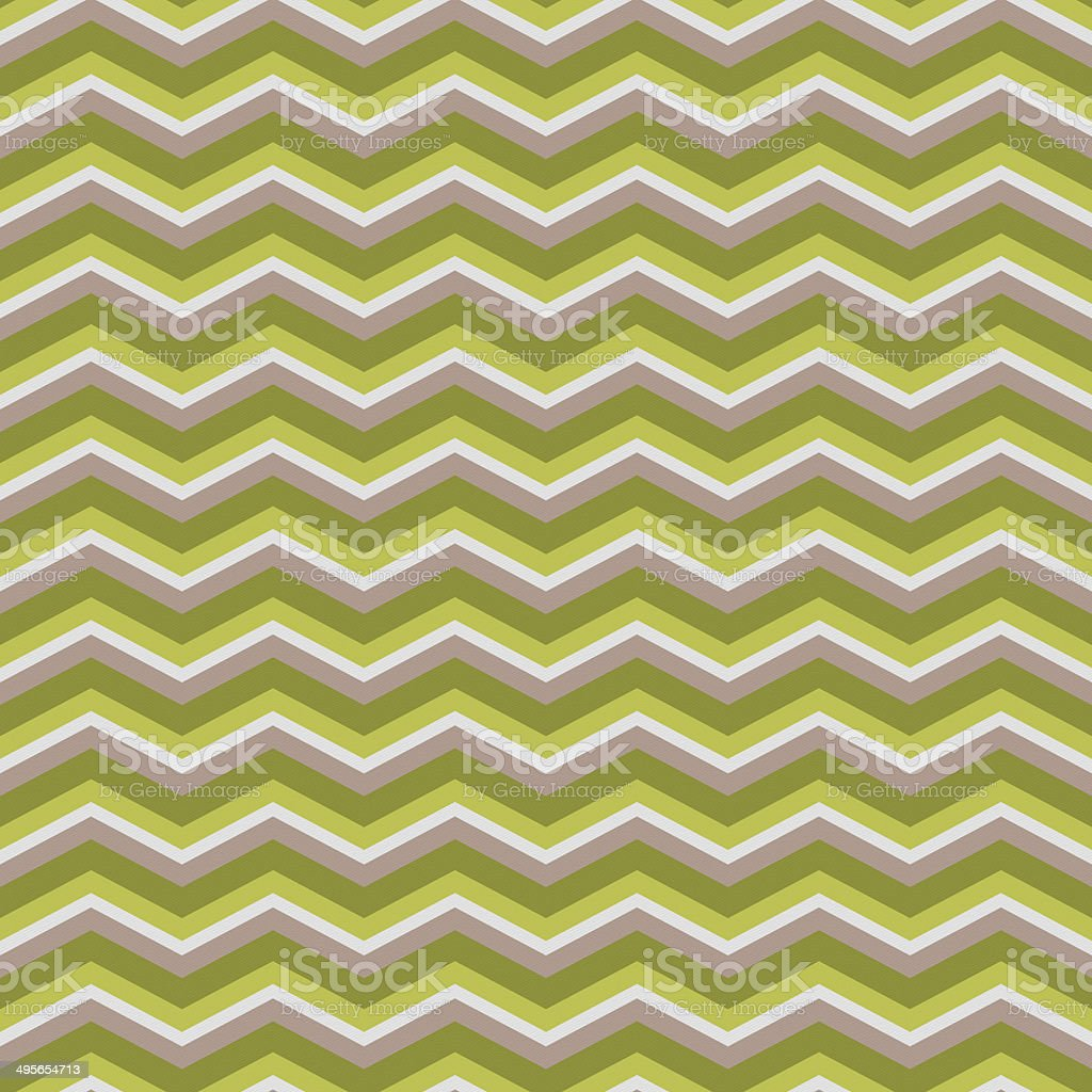 Seamless chevron pattern on textured paper stock photo