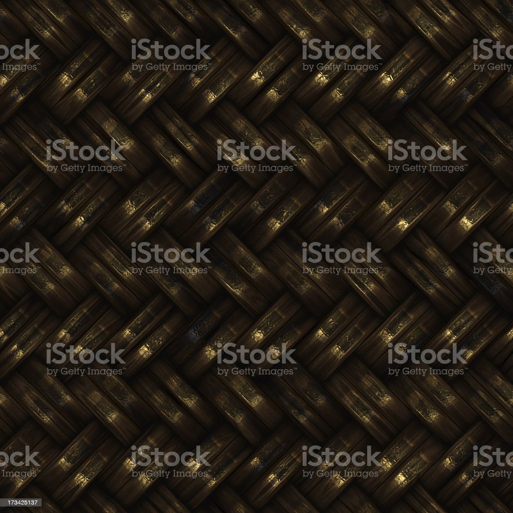 Seamless computer generated high quality woven basket twill royalty-free stock photo