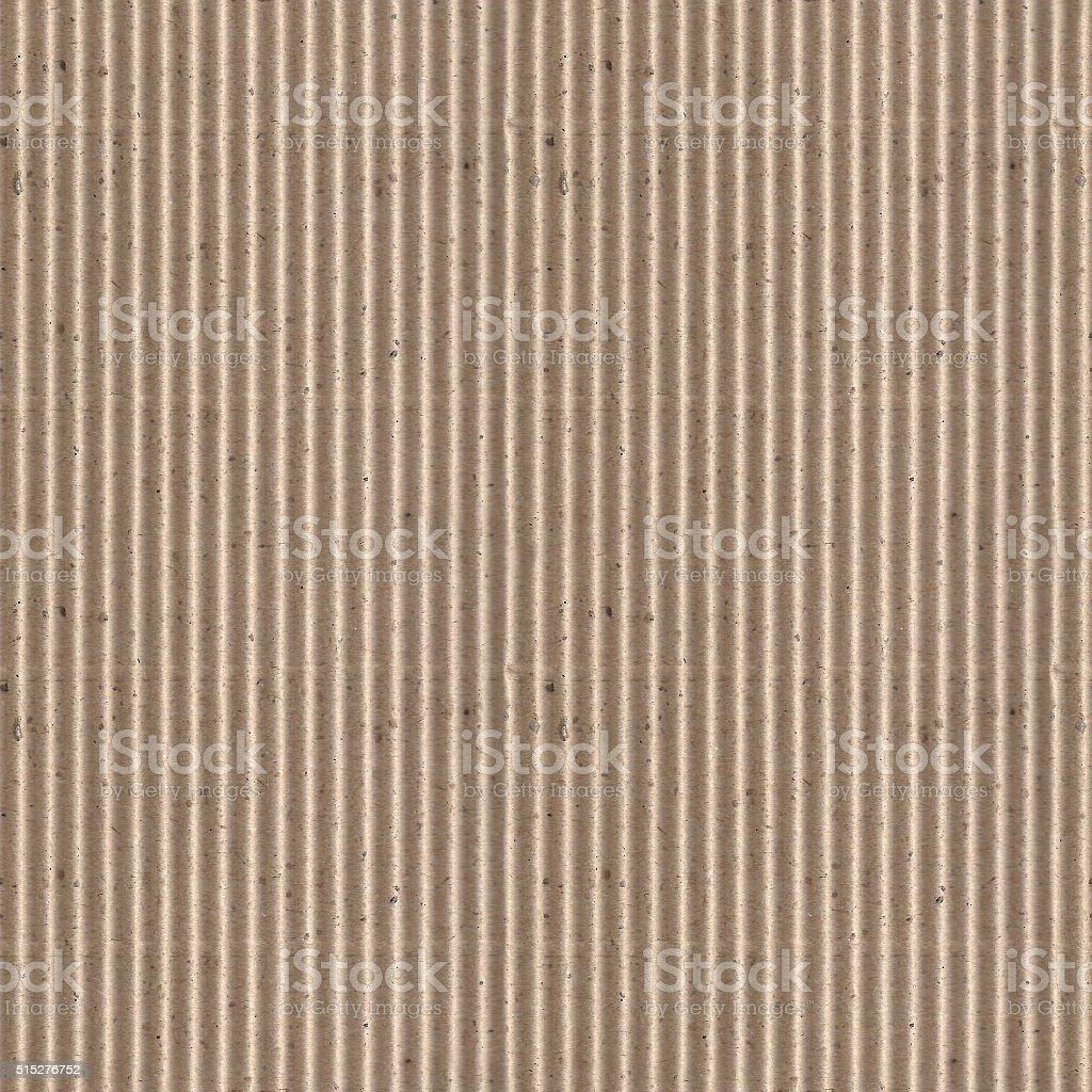 Seamless corrugated cardboard photo texture stock photo