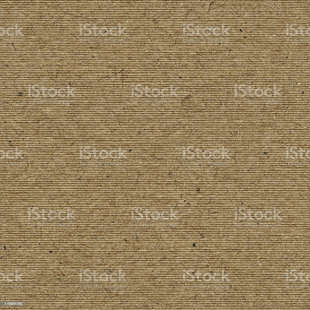 Seamless corrugated paper background royalty-free stock photo