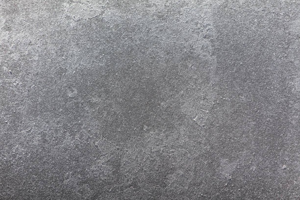 seamless cracked lined polished frozen sheet of ice background pattern - metal stock photos and pictures