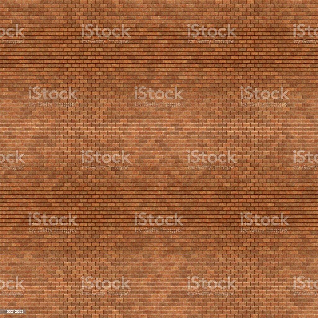 seamless digitally generated brown bricks stock photo