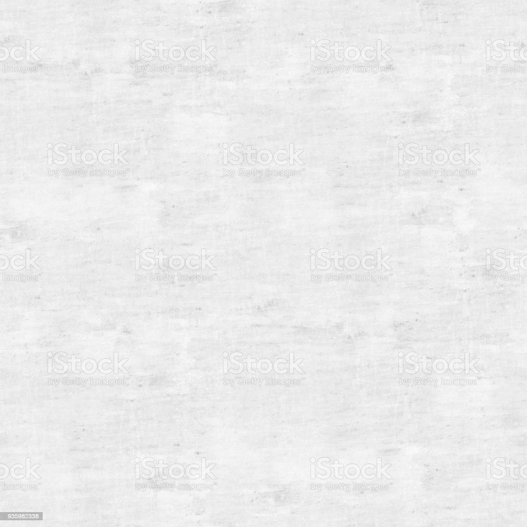 Seamless dirty bad painted white concrete wall surface with visible stains - architectural wall texture stock photo