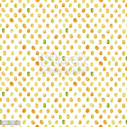 istock Seamless dots pattern. 668175742